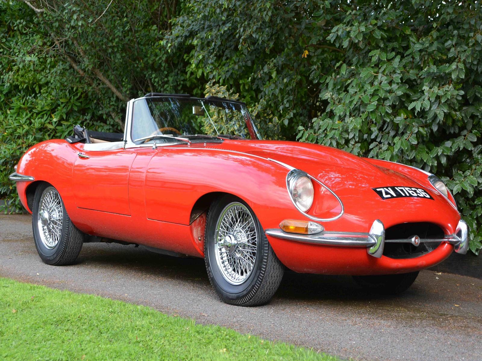 1968 Jaguar E Type convertible RHD Pristine Classics