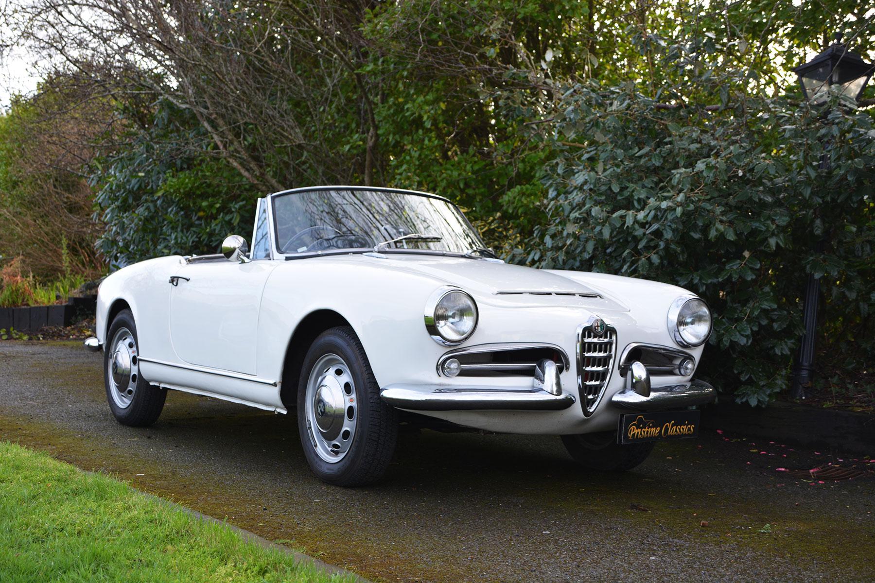 Alfa Romeo 1963 Giulia 101 Spider Rhd Pristine Classics
