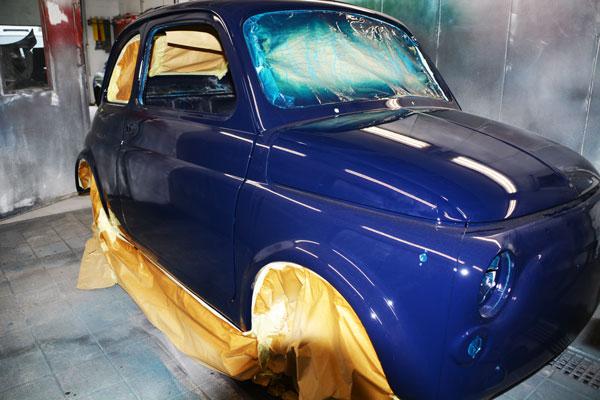 Fiat 500 restoration Pristine classics