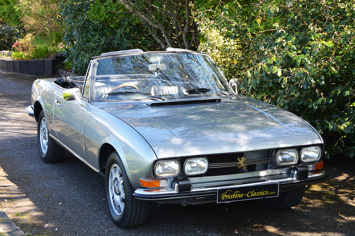 1971 Puegeot 504 Cabriolet Pristine Classics