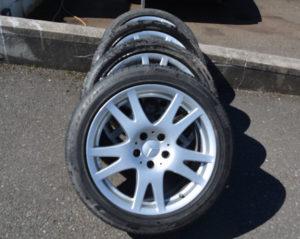 Mercedes 117 inch wheels pristine classics