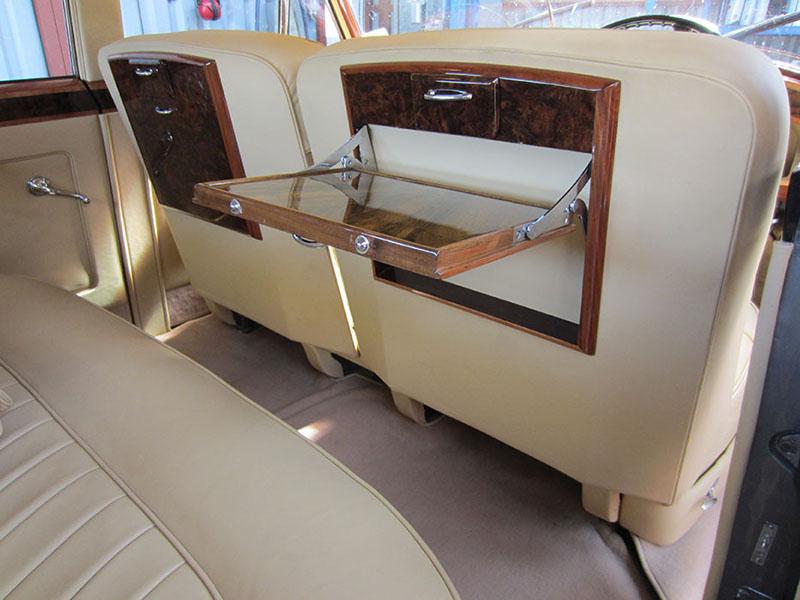 1958 bentley S1 interior
