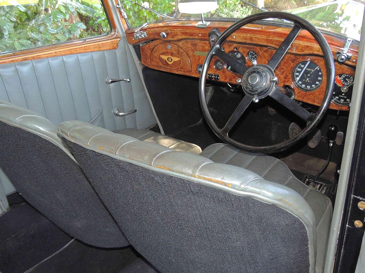 1936 bentley derby steering wheel