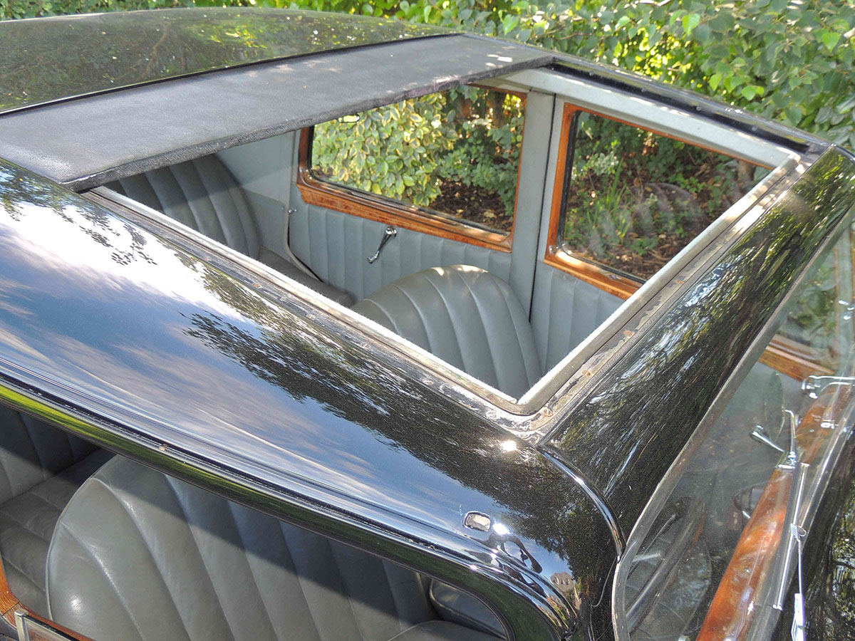 1936 bentley derby sunroof