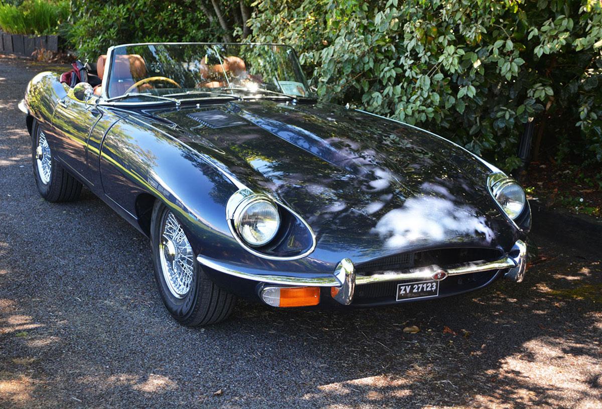 1969 Jaguar E-Type S2