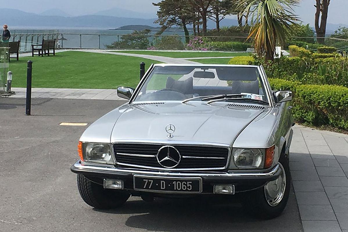 Mercedes 350SL Cabriolet