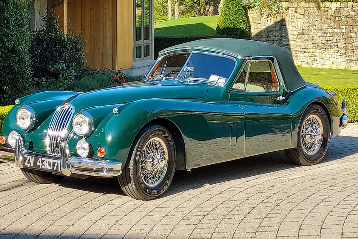1956 Jaguar XK 140 SE