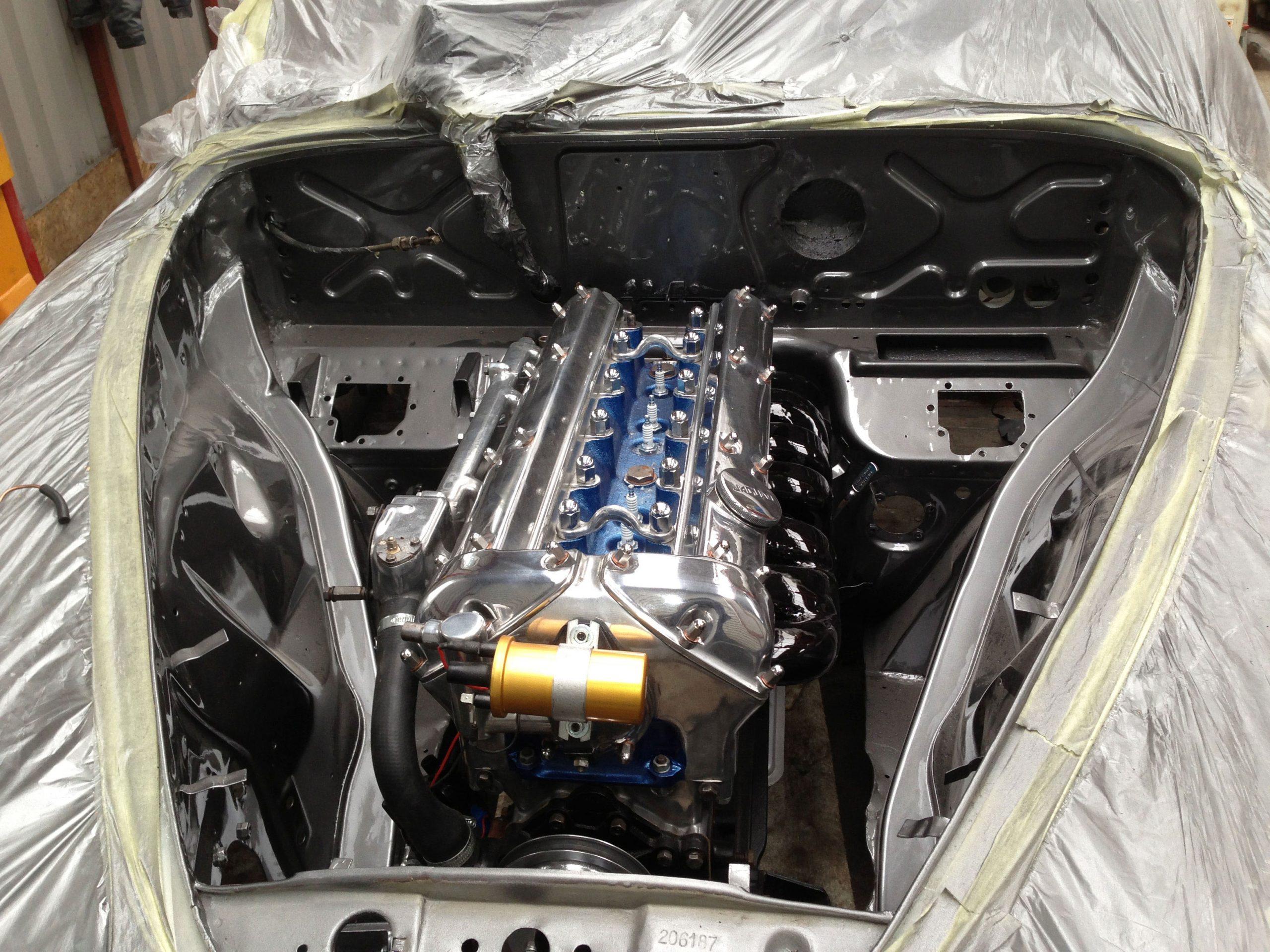 JAGUAR MK II 3.8 1961 engine