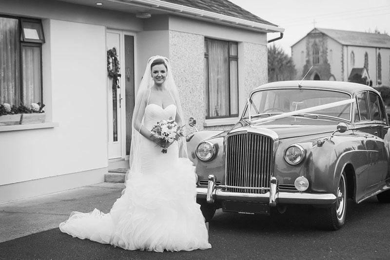 Bentley Wedding Car Hire Kerry